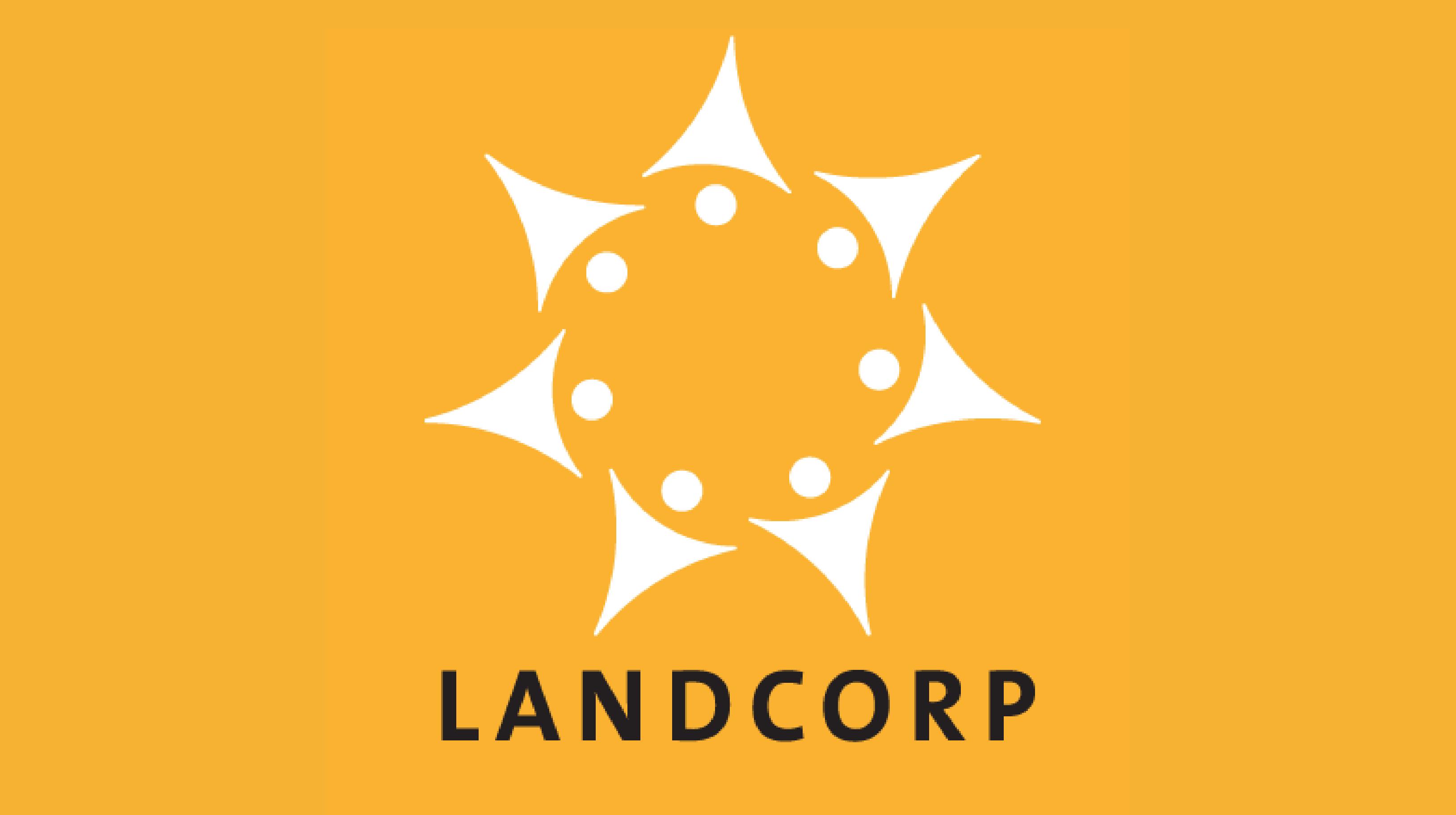 MyOsh Landcorp Yellow Logo
